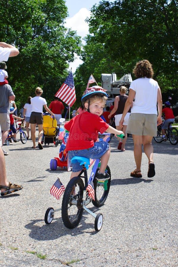 4to del desfile de julio fotografía de archivo libre de regalías