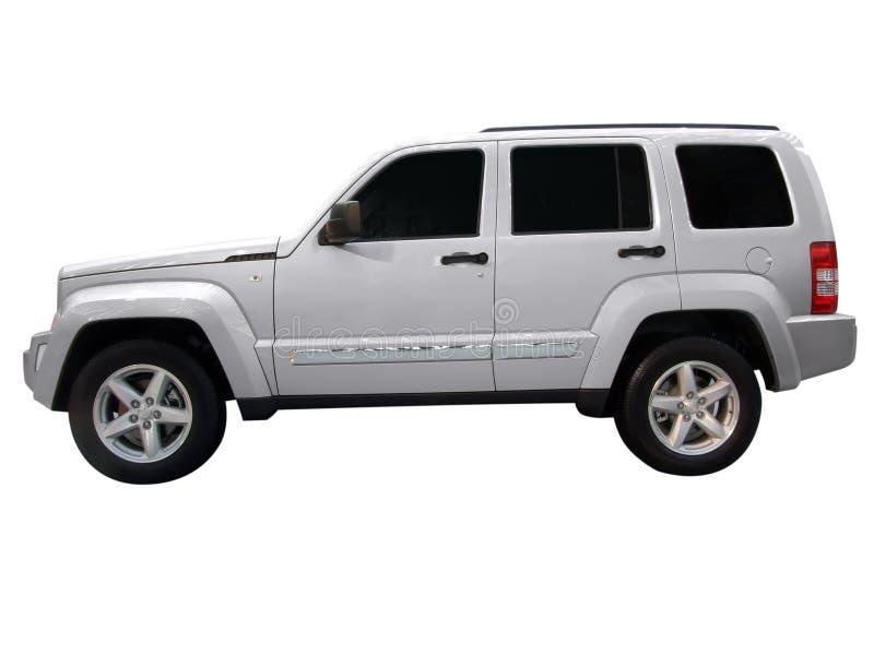 4x4 silver vehicle stock photos