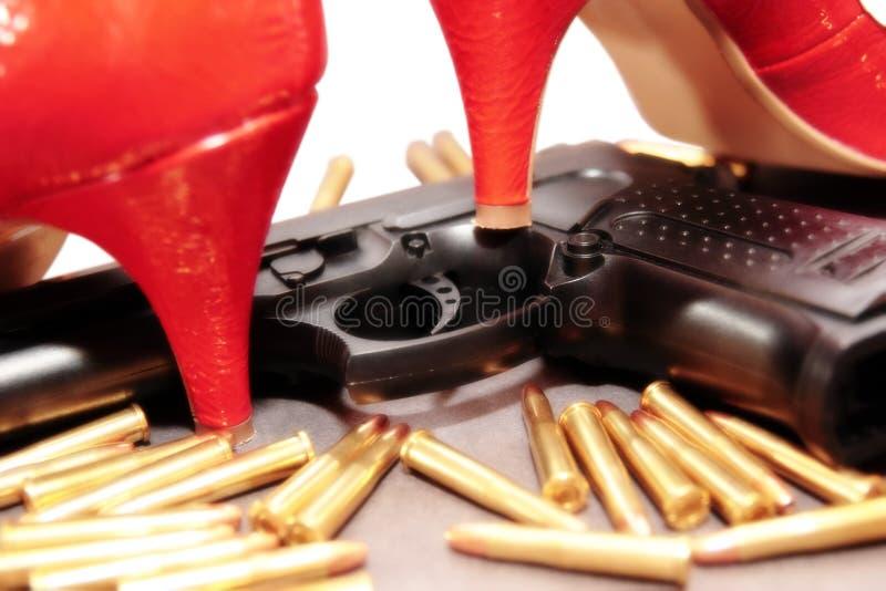 5个凶手夫人 免版税图库摄影