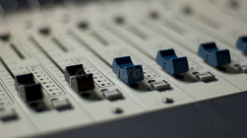 5个控制台混合 免版税库存图片