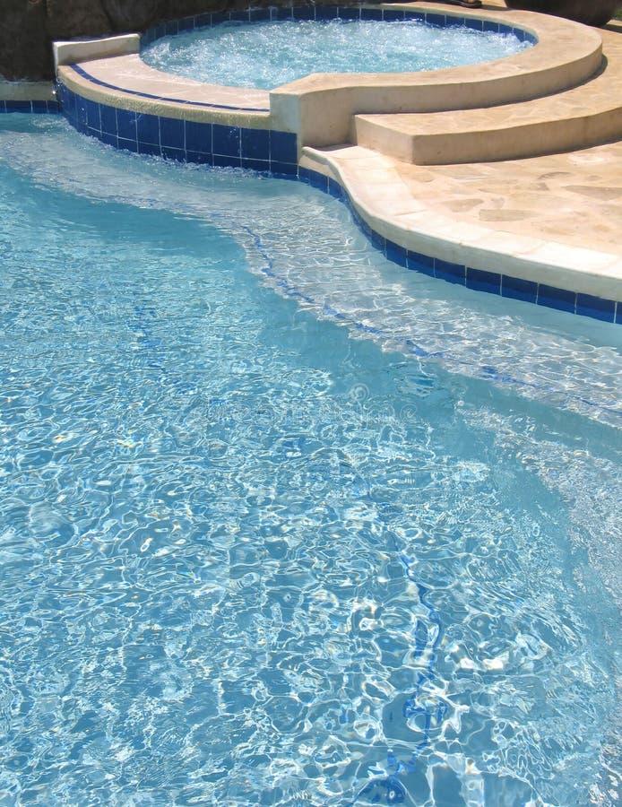 5个池游泳 库存图片