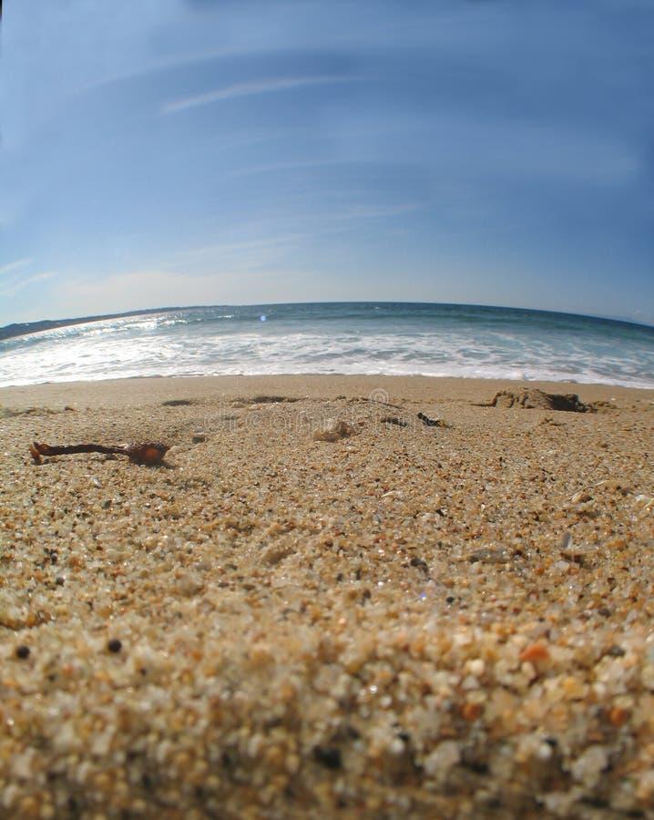 5个海滩场面 库存图片