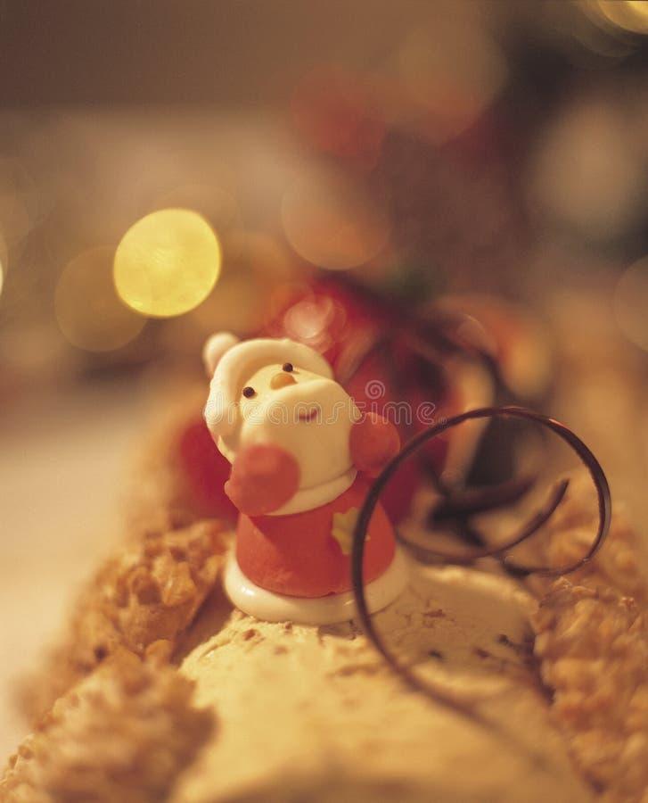 5个蛋糕圣诞节 免版税库存照片