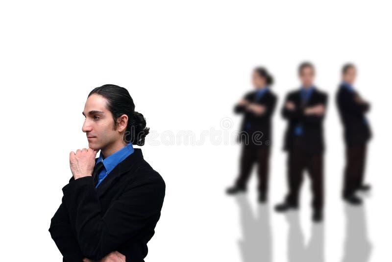 5企业小组 免版税库存图片