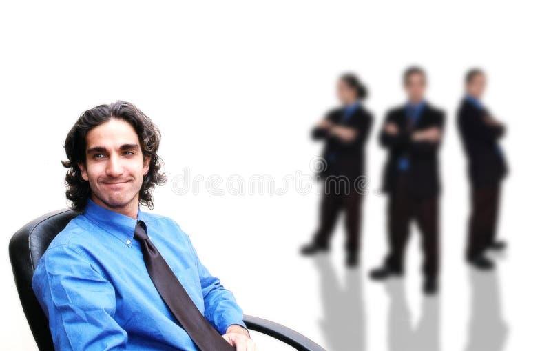5企业小组 免版税图库摄影
