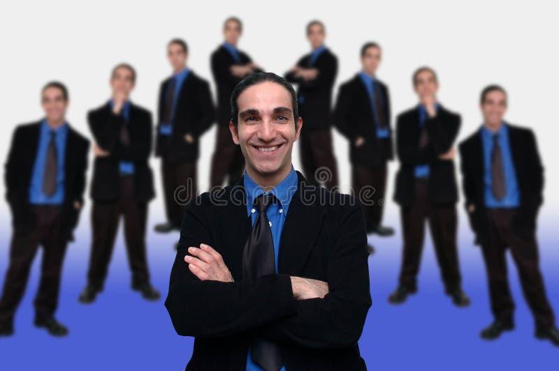 5企业小组 库存图片