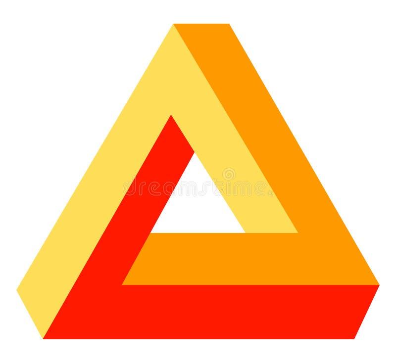5光学的幻觉 库存例证