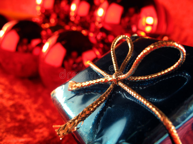 5圣诞节礼物 免版税库存图片