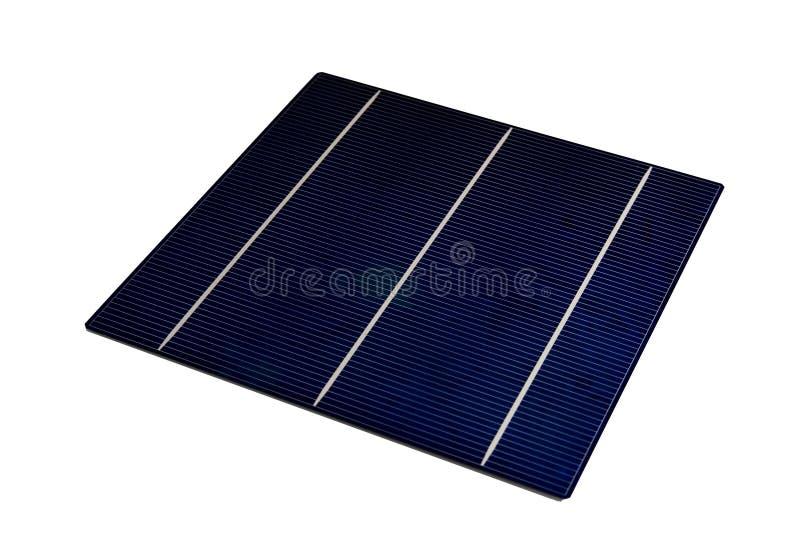 5太阳的电池 库存照片