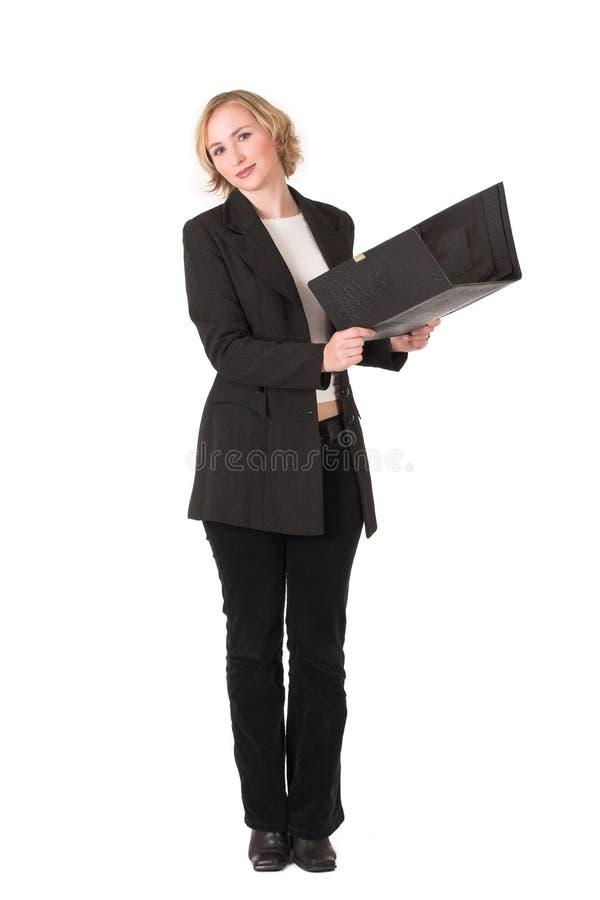 5女商人 库存图片