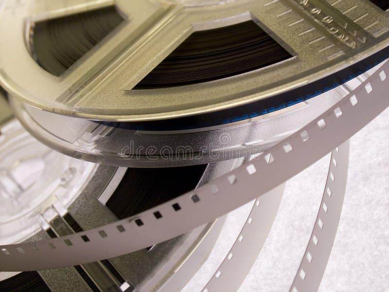 5影片轴serie 免版税库存照片