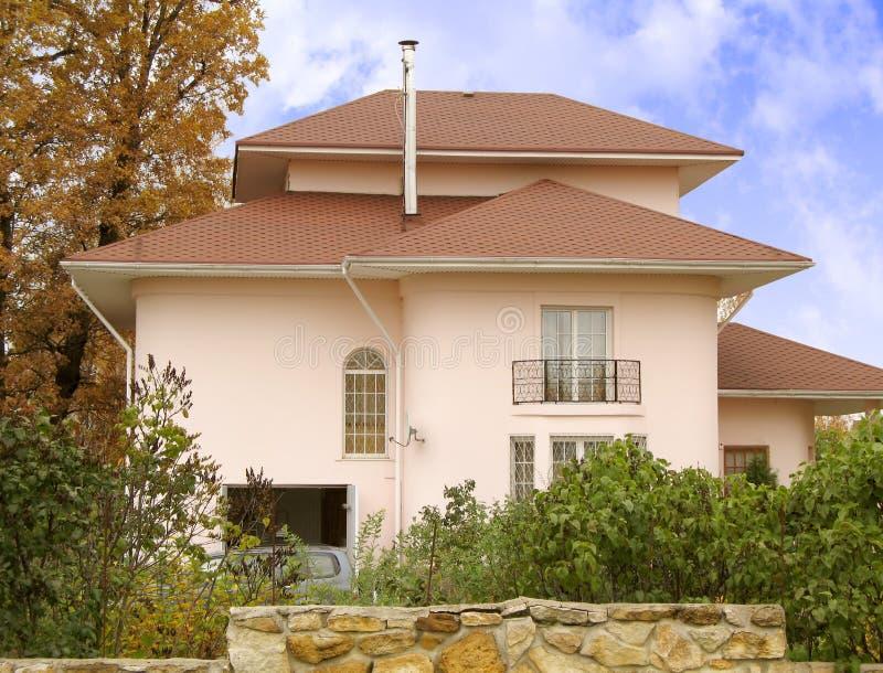 5房子 免版税库存图片