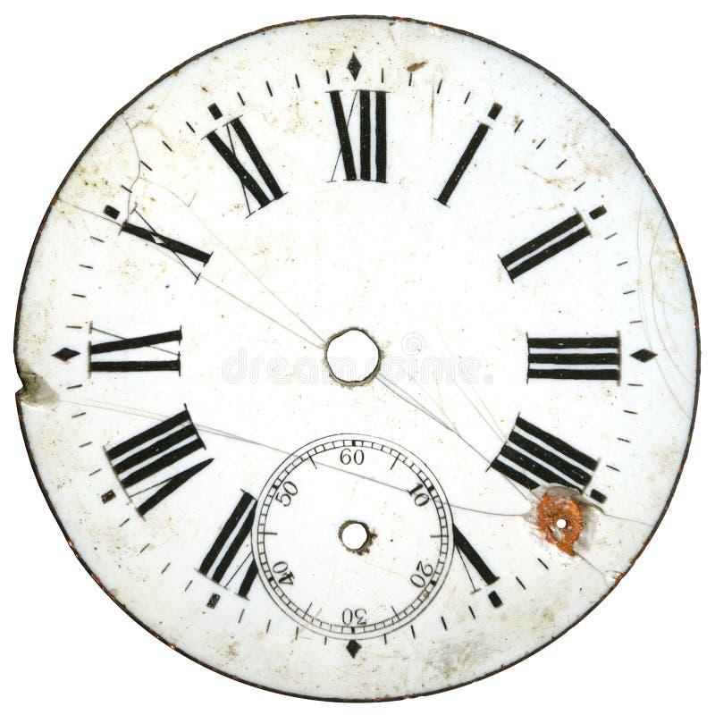 5拨号葡萄酒手表 免版税库存照片