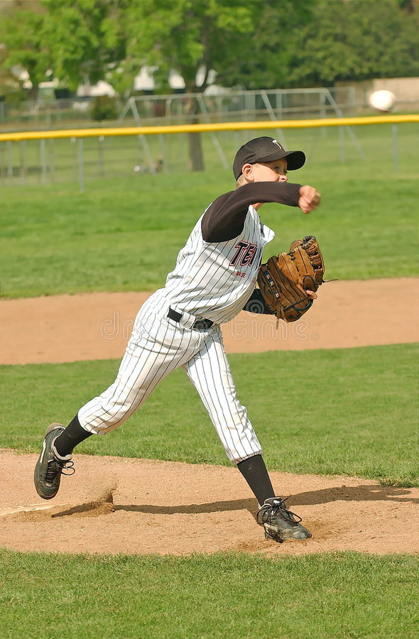 5棒球投手 库存图片