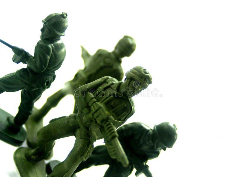 5 żołnierzy zabawka zdjęcia royalty free