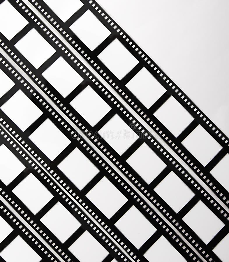 5 λουρίδες ταινιών s στοκ εικόνα