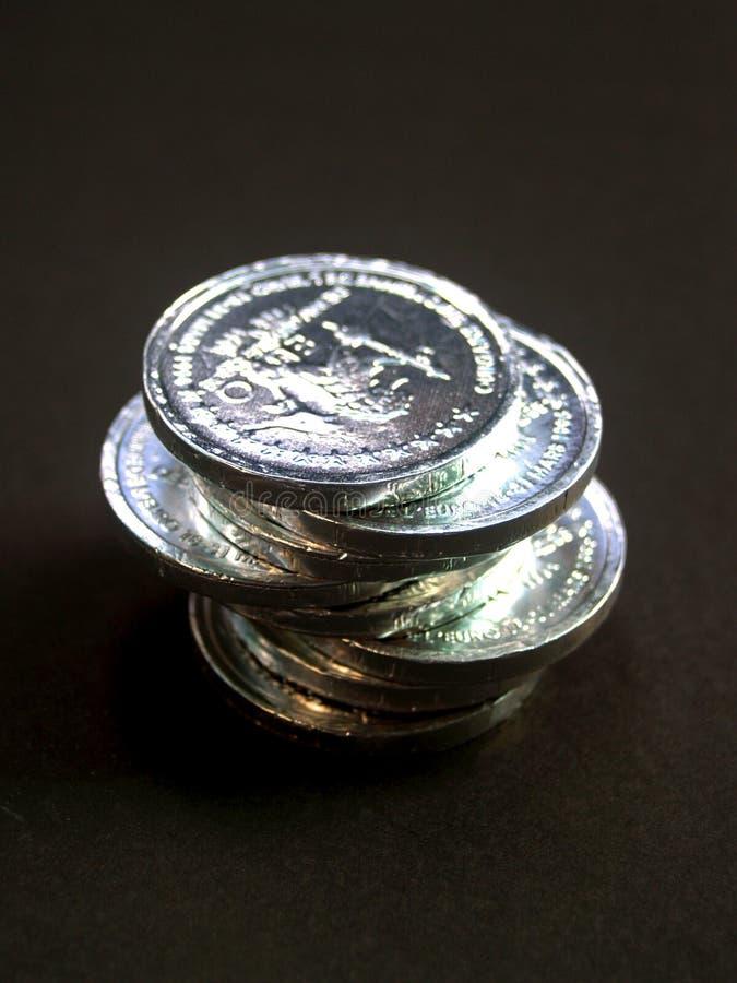 5 νομίσματα Στοκ Φωτογραφίες