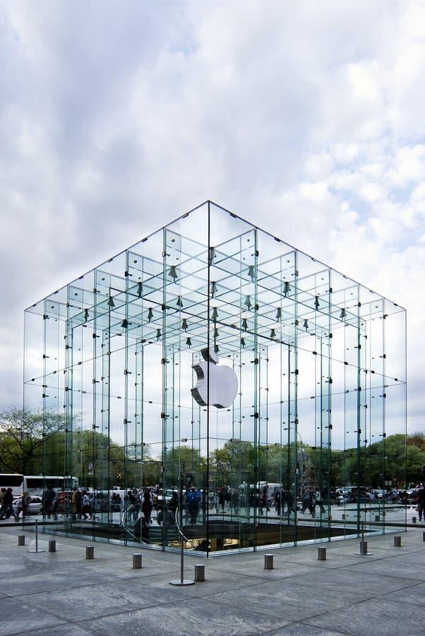 5$ο κατάστημα λεωφόρων μήλω&n στοκ εικόνα με δικαίωμα ελεύθερης χρήσης