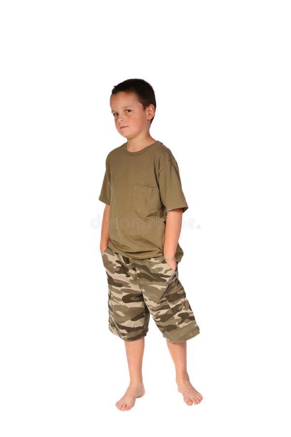 5 детенышей мальчика стоковые фото