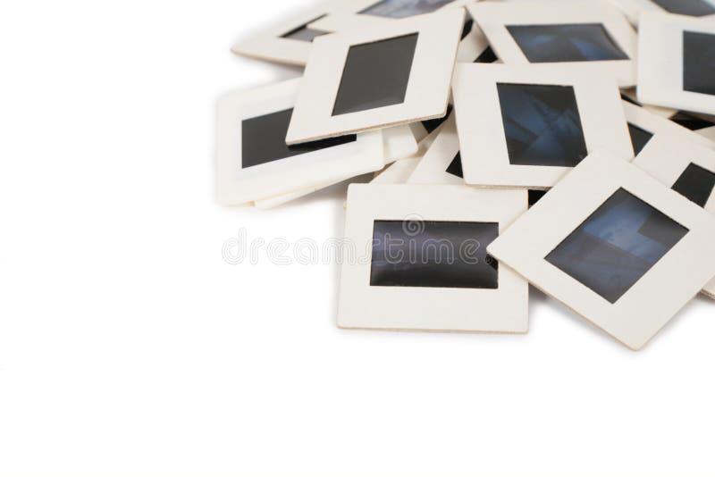 5 дробят скольжения на участки стоковые фотографии rf