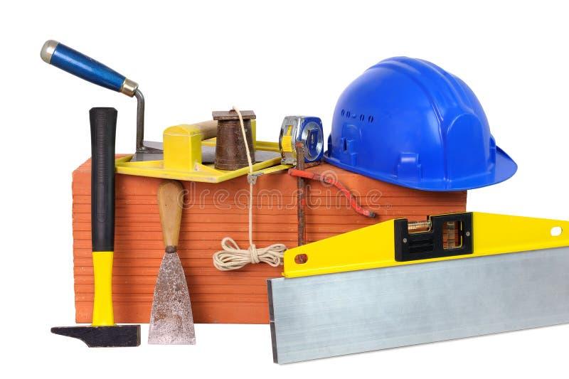 5 инструментов masonry стоковое изображение rf