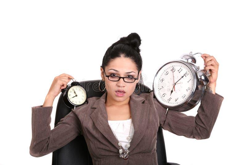 5 9对妇女的商业 免版税图库摄影