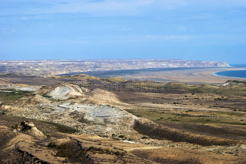 5 Aral plateau morza usturt obraz stock