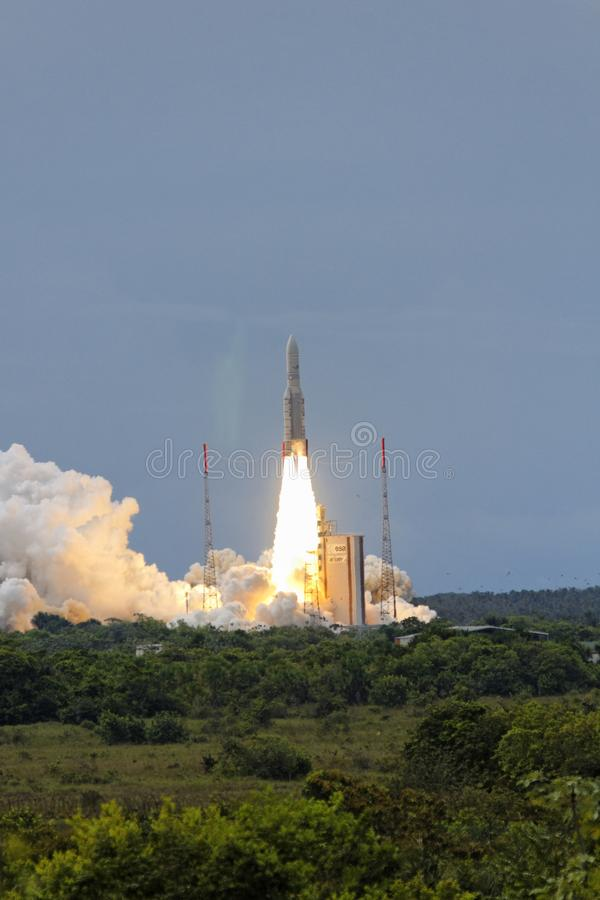 5 Ariane离开 库存照片