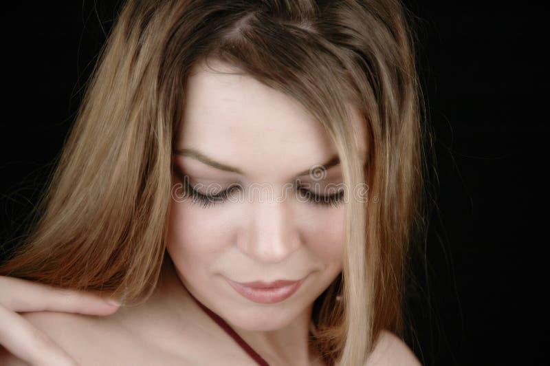 5 atrakcyjna kobieta obrazy stock