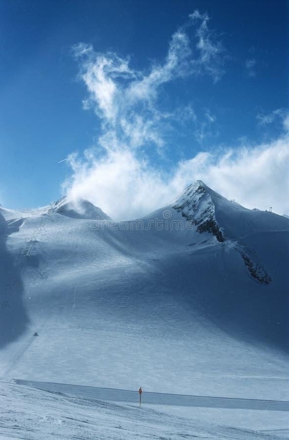5 Austriackich Alp Obraz Stock
