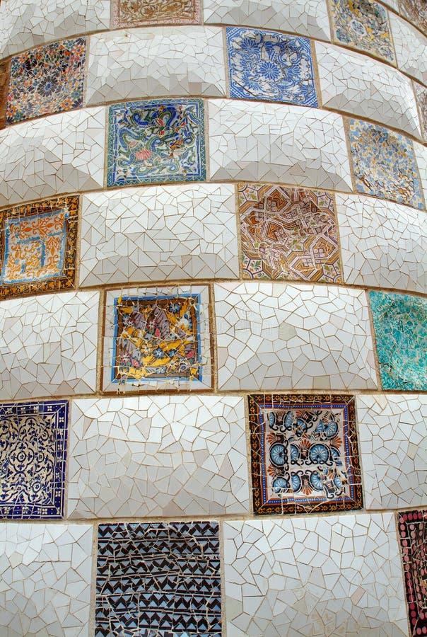 Download 5 Barcelona guell park obraz stock. Obraz złożonej z europejczycy - 13331993