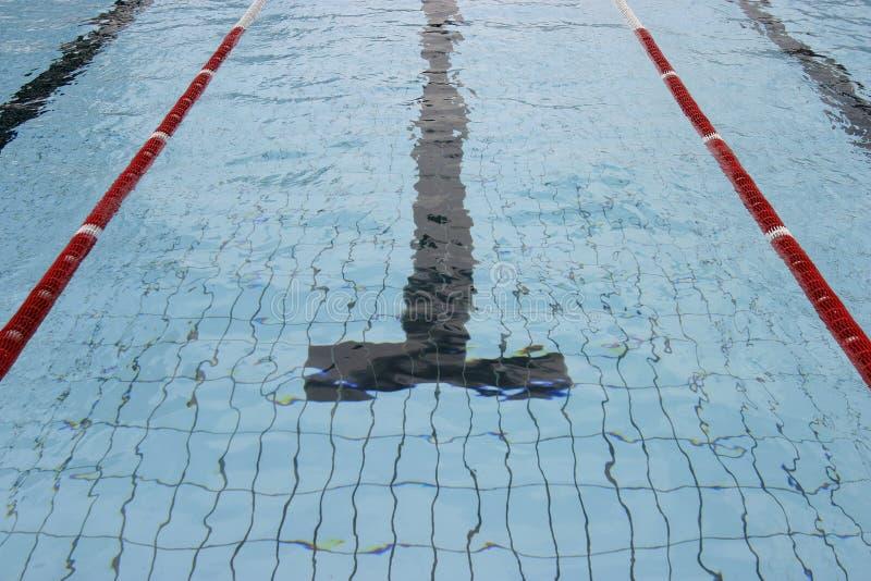 5 basenów dopłynięcie zdjęcia stock