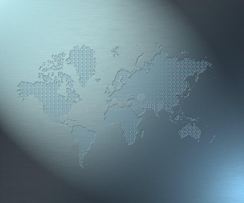 5 binarna ziemi ilustracji