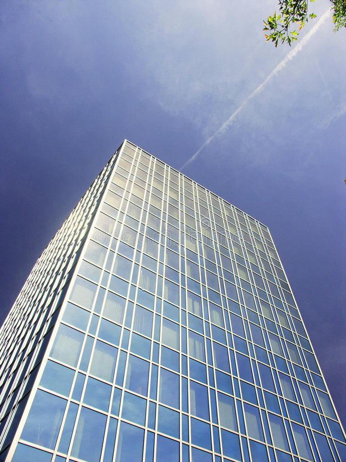 Download 5- Building in the sky stock image. Image of aluminium - 206209