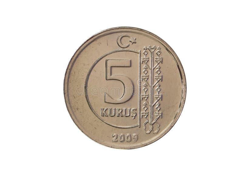 5 centów zdjęcia royalty free
