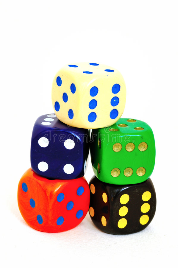 Download 5 die stock image. Image of pile, gaming, risk, number - 5500465