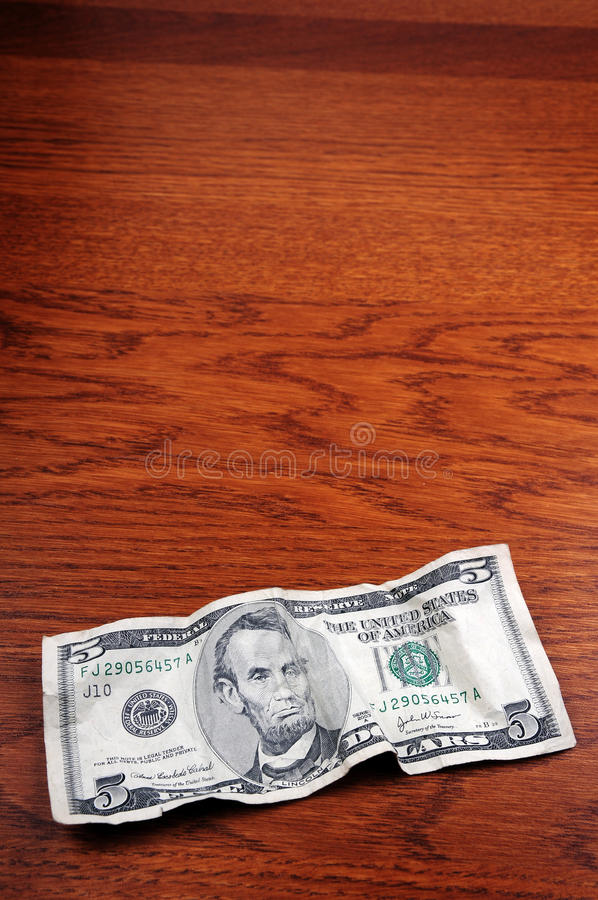 Download 5 dollar banknote stock photo. Image of budgeting, earnings - 9460698
