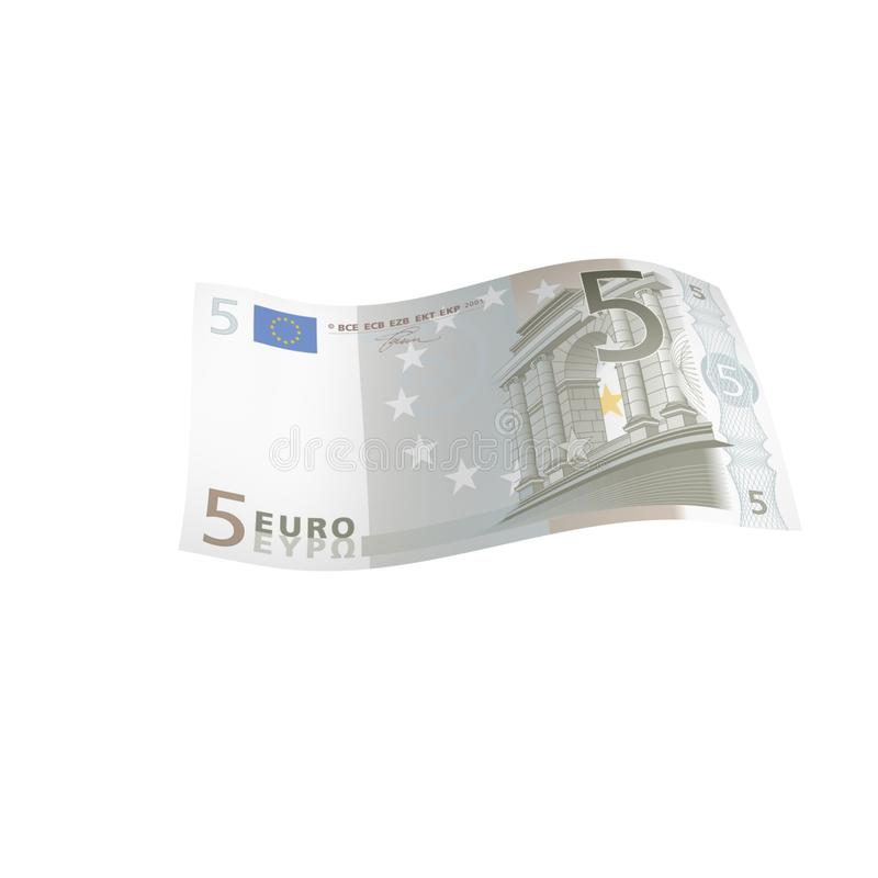 Free 5 Euro Banknote Stock Photography - 21477802