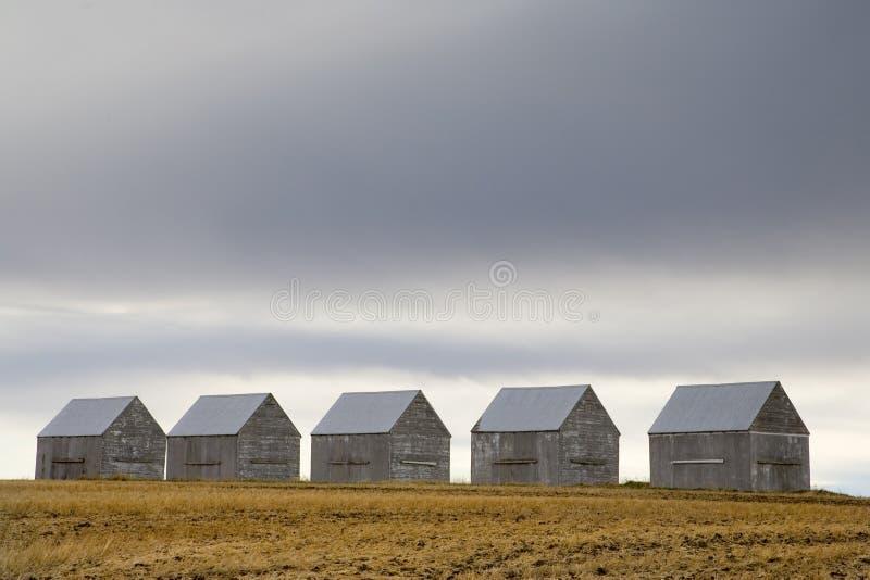 5 granges images libres de droits