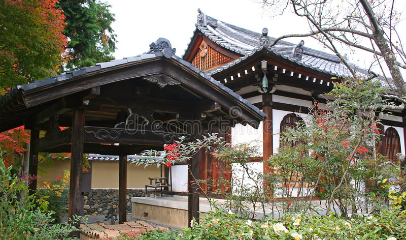 5 japończyków krajobrazu obraz royalty free