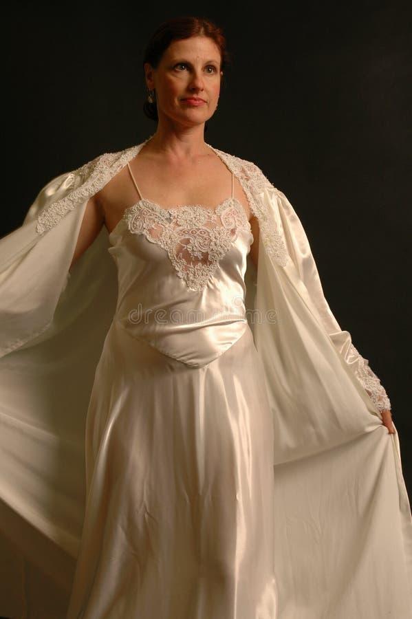 5 kobieta łóżek ubranie fotografia stock