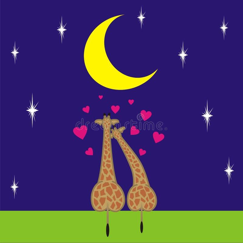 5 miłości royalty ilustracja