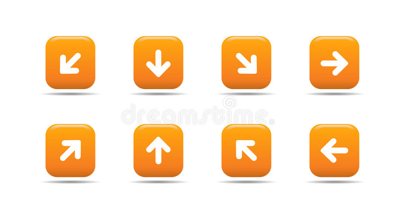 5 morelowych serii ikon ustalają sieci ilustracja wektor