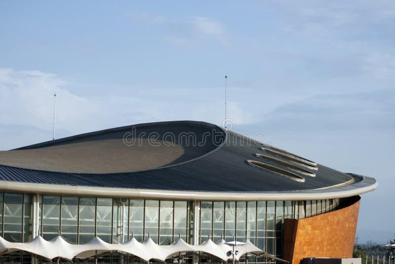 5 nowoczesnego architektur stadionie obrazy stock