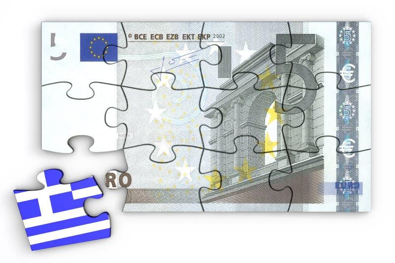 5 Nutowa Euro Łamigłówka I Grecki Kawałek ilustracji
