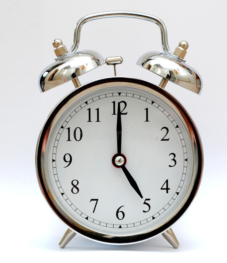 Download 5 O'Clock stock photo. Image of clock, alarm, timing - 21188310