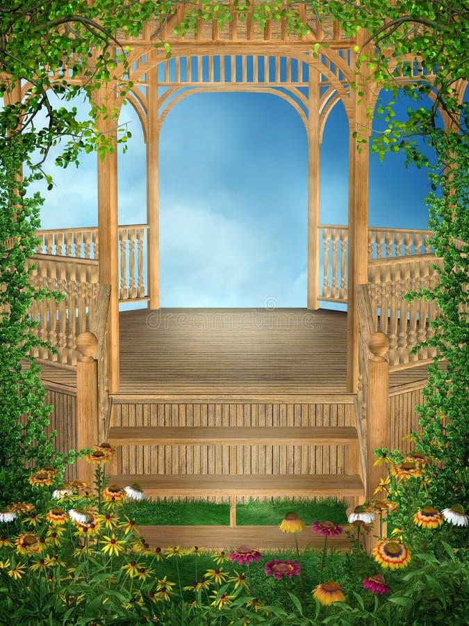Download 5 ogrodowa wiosna ilustracji. Ilustracja złożonej z niebo - 13339118