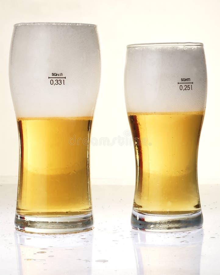 5 piwo zdjęcie stock