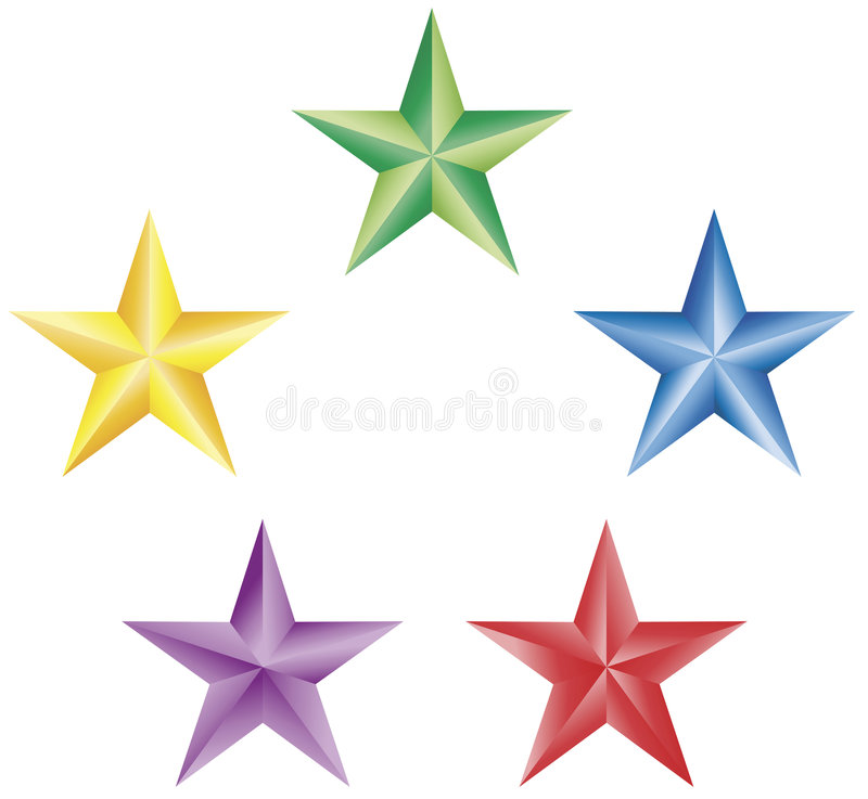 Free 5 Pointed Stars Stock Photo - 7392260