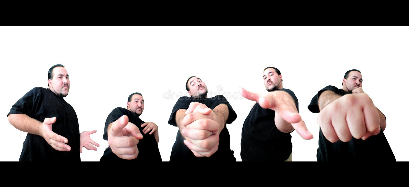 5 Poses For You. Urban man posing